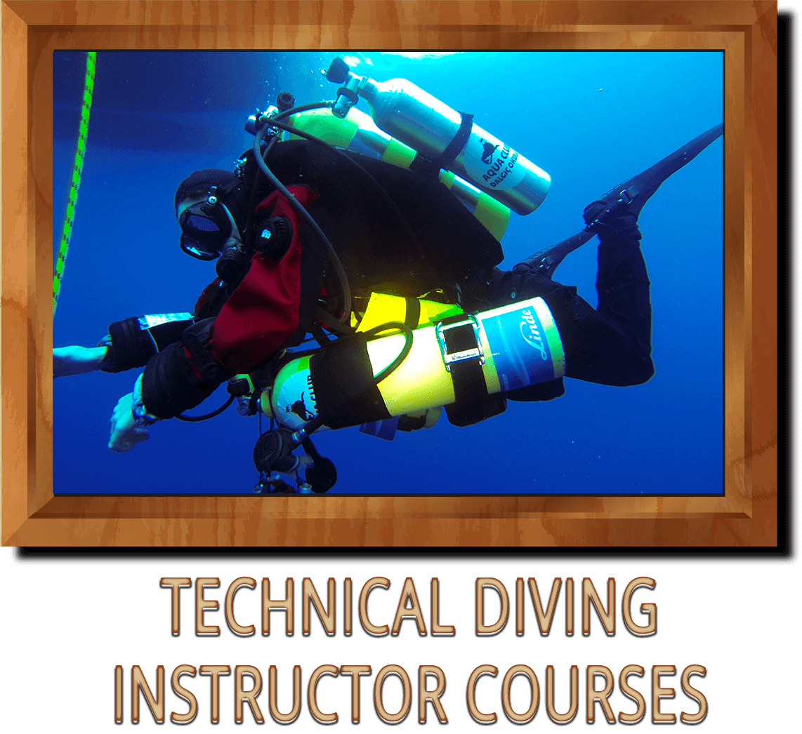 TECHNICAL DIVING INSTRUCTOR COURSES ANKARA