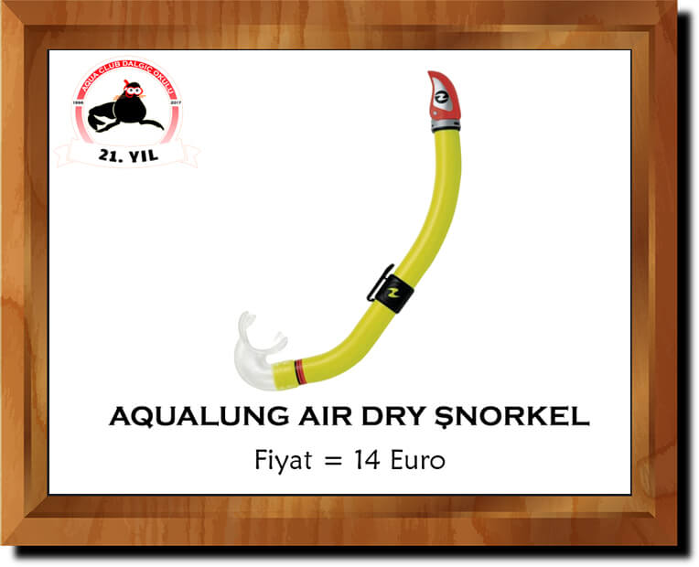 Aqualung Air Dry Şnorkel