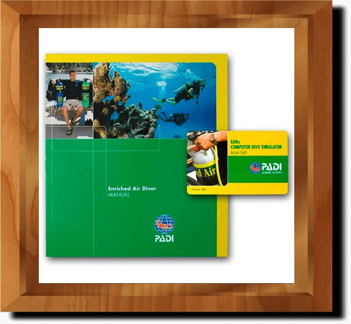 PADI Enriched Air Diver Online Manual (in multiple languages)