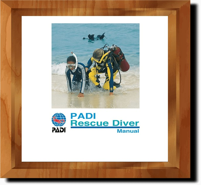 PADI Rescue Diver Online Manual (in multiple languages)