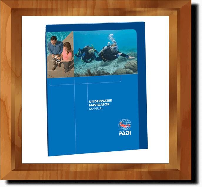 PADI Sualtı Navigasyonu Kitabı (İngilizce)